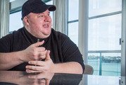 "Kim Dotcom told  the Herald the ruling was a ""major victory"" because it ruled that there is no New Zealand equivalent to the US criminal charges of copyright violation. Photo / File"