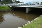 Fancy a swim? The Kopurererua Stream in Tauranga. Photo / John Borren