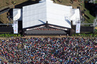 An aerial view of Te Matatini when it was held in Rotorua in 2013. PHOTO/FILE