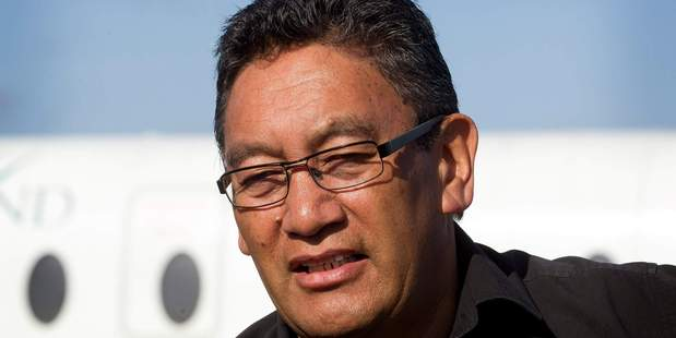 Loading Mana Movement leader Hone Harawira signed an agreement with the Maori Party today detailing electorate deals. PHOTO/FILE