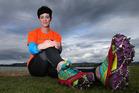 Nicola Wearne was diagnosed with rheumatoid arthritis at 38. She is doing the Everest Marathon - dubbed the world's most adventurous trail running marathon. Photo/John Borren