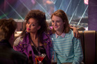 Gugu Mbatha-Raw (left) and Mackenzie Davis in the season three episode San Junipero. Photo/Suppled