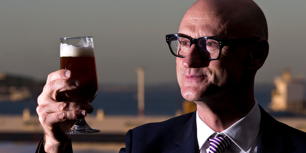 Moa Brewing CEO Geoff Ross. New Zealand Herald photograph by Jason Oxenham.