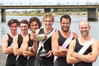 GLORIOUS GOLD: All of these Hawke's Bay rowers won gold as rowers or coaches at the national championships in Twizel. PHOTO/FILE