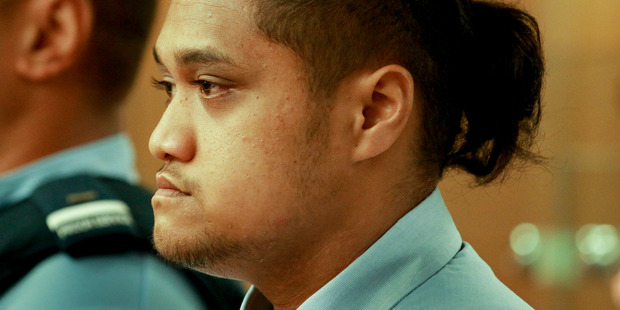 GUILTY: Tamehana Huata was found guilty of killing his 2 year-old stepson yesterday in Napier's High Court. Photo/Warren Buckland.