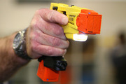 British police fired a Taser at a blind man waiting for his train. Photo / File