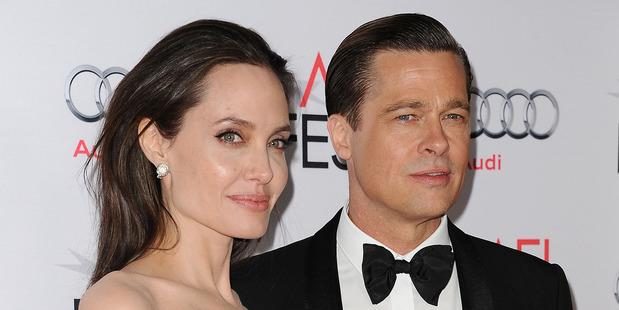 Angelina Jolie and Brad Pitt. Photo / AP