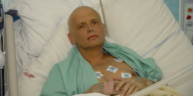 Former Russian security agent Alexander Litvinenko died from polonium poisoning in 2006. Photo / Getty Images