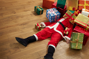 Just over 3,700 people made injury claims to ACC for injuries that happened on Christmas Day alone, in 2016. Photo /Getty Images
