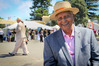 CELEBRATION: Dilmah founder Merrill J. Fernando enjoyed returning to the Tremains Art Deco Festival for a third year. PHOTO/WARREN BUCKLAND
