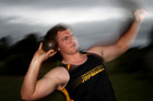 BIG FUTURE: Hawke's Bay's Nick Palmer is ranked third on the Australasia under-20 shot put rankings. PHOTO/DUNCAN BROWN