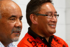 Maori party co-leader Te Ururoa Flavell and Mana Movement leader Hone Harawira. Photo / Northern Advocate