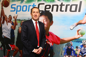 Sport NZ boss Peter Miskimmin wrote to the Auckland Council late last year seeking a continuation of the funding support for the centre. Photo / Photosport