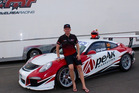 Simon Ellingham, of Napier, with the Porsche 911 GT3 Cup car for the 2017 series in Australia and Malaysia. PHOTO/Nicole Angeline