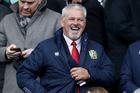 Irish Lions head coach Warren Gatland likes to be a happy clown. Photo / ©INPHO/Dan Sheridan