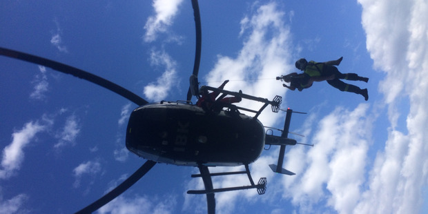 Taking a rescue beacon on a tramp saved a diabetic man's life this weekend.