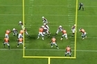 Kiwi NFL player Paul Lasike scores a pre-season touchdrown for Arizona Cardinals against Denver Broncos. Source: NFL