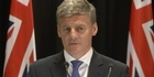 Watch: Watch: Bill English on a possible Maori Party deal with Hone Harawira
