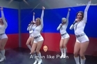 The Last Week Tonight host resorted to music to make it clear what a threat Putin is. YouTube / LastWeekTonight
