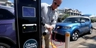 Watch: Watch: Solar electrical vehicle charger opens in Tauranga