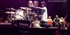 Watch: Watch: Christchurch teen plays drums with Bruce Springsteen