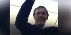 Watch: Passengers rejoice when man kicked off flight