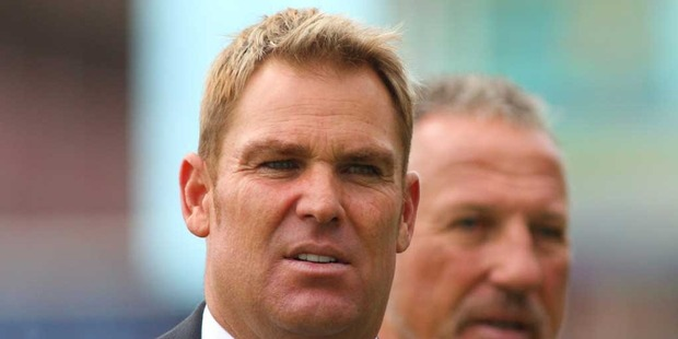 Shane Warne. Photo / Getty Images.