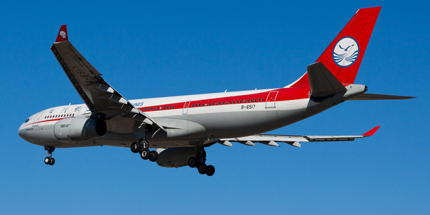 Sichuan Airlines will use an Airbus A330 on flights to Auckland from June 13.