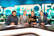 Josh Thomson, Jesse Mulligan and Kanoa Lloyd were joined by Rove McManus for their opening night of The Project on Three.