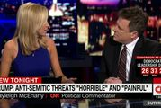 CNN commentator Kayleigh McEnany and Steven Goldstein, the Anne Frank Centre's executive director got into a heated exchange.
