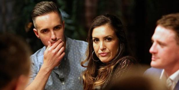 This Married At First Sight's dinner party with Anthony Manton (left) got out of hand.