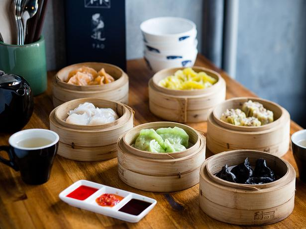 A selection of dumplings on the menu at Tao. Photo / Babiche Martens
