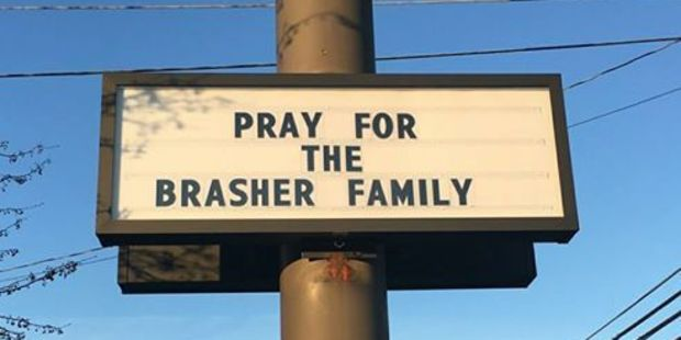 The community has come out in support of the family. Photo / Facebook