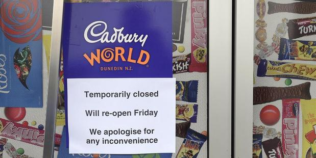 The union representing the workers set to lose their jobs at Cadbury's Dunedin factory has spoken out against a public boycott of the brand's chocolate. Photo / Otago Daily Times