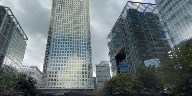 Canary Wharf is a major business district in London.
