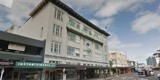 The George Courts building on Karangahape Rd. Photo / Google Street View
