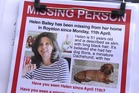 Helen Bailey went missing in April last year along with her dachshund Boris.