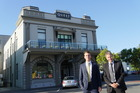 HERITAGE BUILDING: Jack Elliot and Ian McLachlan from Colliers International sold the Quest Napier for $7.1 million to a local family trust. PHOTO/SUPPLIED.