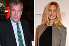 Jeremy Clarkson and his new girlfriend Lisa Hogan. Photos / Getty Images