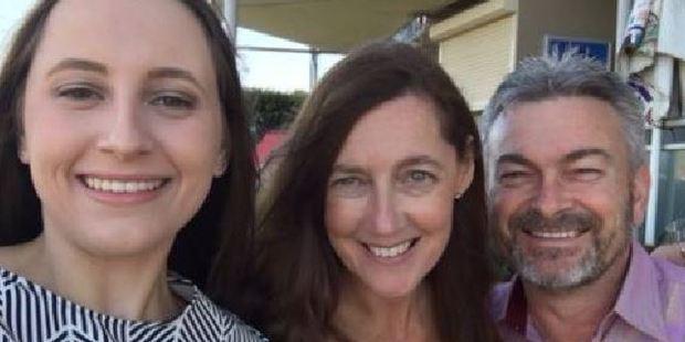 Sarah Ristevski, Karen Ristevski and Borce Ristevski. Photo / Supplied