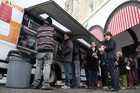 Kogi BBQ food truckin LA. Photo / Rob Poetsch