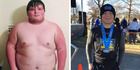 Andy Albertson was always self conscious about his weight. Photos / Andy Albertson Facebook