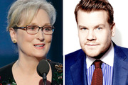 James Corden reveals the not-so-lovable side of Meryl Streep. Photos / AP, Supplied