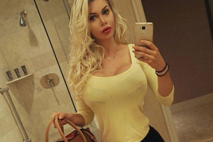 Glamour model Pixee Fox has had more than 100 surgeries to become a real-life Barbie doll. Photo / Instagram
