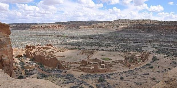 The mysterious Chacoan people were a society dominated by women and who built great houses with hundreds of rooms.