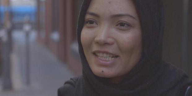 Rahila was shaken after the experiment and shocked at some of the reactions she received. Photo / SBS