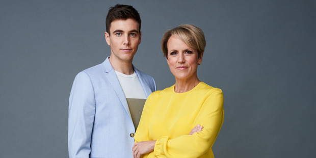 The new TVNZ Breakfast Lineup. TVNZ posted a 6.2 per cent decline in first-half earnings as advertising revenue fell faster than operating costs.