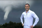Sam Wallace and that phallic cloud that saw the Breakfast team come unstuck. Photo/YouTube