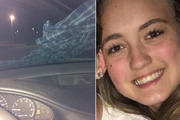 The Michigan teenager believed she was being lured out of her car with a shirt tied to her windshield. Photos / Facebook, Ashley Hardacre