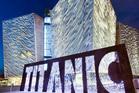 The Titanic Museum in Belfast Northern Ireland.